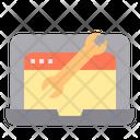 Optimization Marketing Web Icon