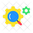 Optimization Magnifier Marketing Icon