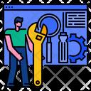 Optimization Maintenance Seo Icon