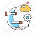 Optimization Seo Marketing Icon