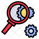 Analyze Research Investigate Icon