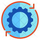 Operation Gear Action Icon