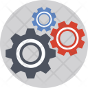 Optimization Management Cogs Icon
