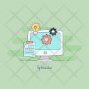 Optimization Seo Improvement Icon