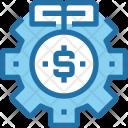 Money Optimize Investment Icon