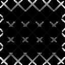 User Interface Option Setting Icon