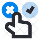 Customer Review Feedback Options Icon