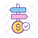 Options For Money Investment Icon