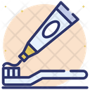 Oral Hygiene Toothpaste Tooth Care Icon