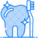 Toothbrush Tooth Cleaning Tooth Care Icon