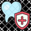 Oral Protection Shield Icon