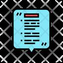 Oral Report Color Icon