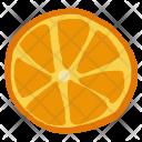 Orange Citrus Fruit Icon