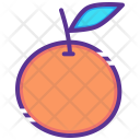 Orange Thanksgiving Fruit Icon