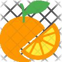 Orange Citrus Lime Icon
