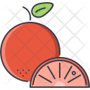 Orange Fruit Cooking Icon