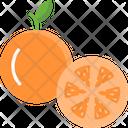 M Orange Icon