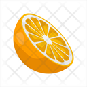 Orange Slice Oranges Icon