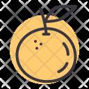 Orange Fruit Food Icon