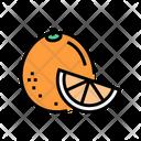 Orange Aromatherapy Color Icon