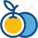 Orange Fruit Healthy Icon