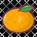 Orange Lime Fruit Icon