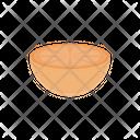 Orange Slice Citrus Icon