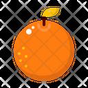 Orange Fruit Chinese Icon
