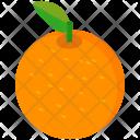 Orange Fruit Healthy Icon