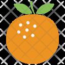 Orange Fresh Fruit Icon