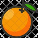 Orange Citrus Juice Icon