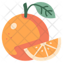 Fruit Vegan Orange Icon