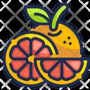Orange Fruit Oranges Icon