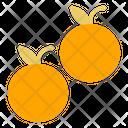 Orange Food Healthy Icon