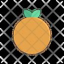 Orange Fruit Sweet Icon