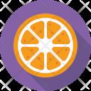 Orange Fruit Diet Icon