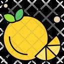 Orange Food Fruit Icon