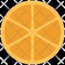 Orange Citrus Slice Icon