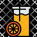Orange Juice Drink Icon