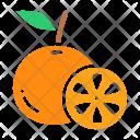Orange Fruit Lemon Icon