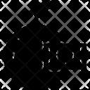 Orange Barcode Icon