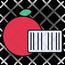 Orange Barcode Farm Icon