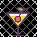 Orange Cocktail Alcohol Icon