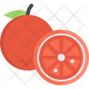 Orange Cooking Food Icon