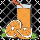 Orange Juice Citrus Juice Fresh Juice Icon