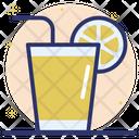 Orange Juice Lemonade Refreshing Juice Icon