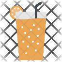 Juice Orange Citrus Icon