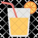 Orange Juice Lemonade Icon
