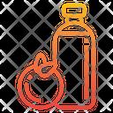 Orange Juice Juice Bottle Icon