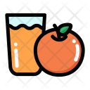 Orange juice Icon
